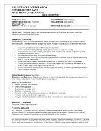 Teller Resumes Teller Resume Samples Free Examples Bank Resumes ...