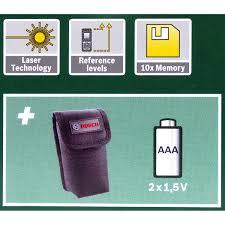 <b>Дальномер лазерный Bosch PLR</b> 25 с дальностью до 25 м в ...