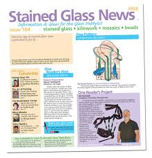 Stained Glass News March 2013 Edition - 5 Hot Products for Spring ...