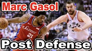 Marc Gasol Post Defense Breakdown - YouTube