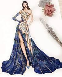 Model Dress Design Drawing Pin By Dana Popovici On Womens Fashion In 2020 Fashion