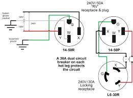 Trailer Light Plug Wiring Wiring Diagram For 220 Volt Generator Plug Outlet Wiring