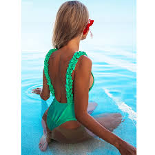 Detail Feedback Questions about Miyouj Ruffle Shoulder One Piece ...