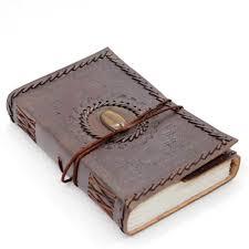 tiger eye leather journal