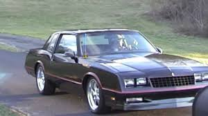 1986 Chevrolet Monte Carlo SS All Street Project Car - YouTube