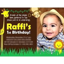 birthday invitation card design printable 1st cards free