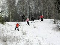 Лыжи в школе обучения лыжным ходам Физкультура на Сайт  Организация урока по лыжной подготовки 5 7 класс