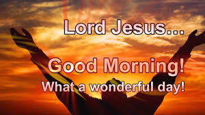 Jesus Good Morning Quotes
