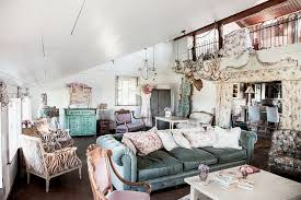 chic cozy living room furniture. View In Gallery Cozy Living Room With Slanted Roof And Vintage Décor [Photography: Amy Neunsinger] Chic Furniture D