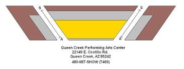 Queen Creek Performing Arts Center Seating Chart Theatre