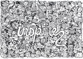 Small Picture Inspire Doodle coloring page Free Printable Coloring Pages