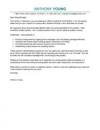 Cover Letter Examples Letters Administration Office Support