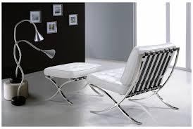 divani casa bellatrix modern white leather x leg chair ottoman lounge set