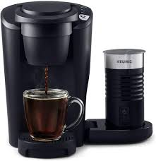 Get it by tomorrow, may 11. Amazon Com Keurig K Latte Single Serve K Cup Coffee And Latte Maker Comes With Milk Frother Compatible With All Keurig K Cup Pods Matte Black Kitchen Dining