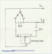 pleasing motor start capacitor wiring diagram circuit run types fridge compressor capacitor wiring diagram refrigeration and air conditioning repair wiring diagram of single phase motor with capacitor start run starting