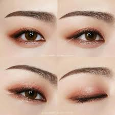 korean makeup american dupe korean peach eyeshadow dupe kpop korean hair and style