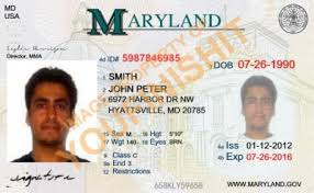Maryland Od Id Maryland Id Card