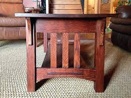 oak coffee table and end tables wood works mission style oak coffee and end tables inside