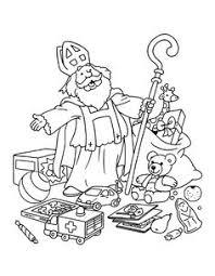 126 Beste Afbeeldingen Van Sinterklaas Kleurplaten Adult