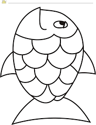 free rainbow fish template pdf 2 page s vbs