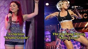 Ariana Grande & Kaley Cuoco (Tribute Video) - YouTube