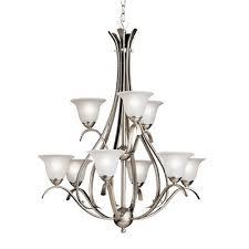 kichler lighting dover 9 light chandelier