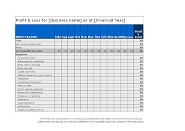 Create A Profit And Loss Statement Profit And Loss Statement Spreadsheet Templates At