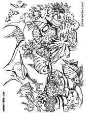 Small Picture Download Under The Sea Coloring Pages Of Sea Animals Or Print