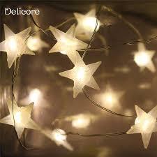 star shaped lighting. 20 LED Star Shaped String Lights Lighting A