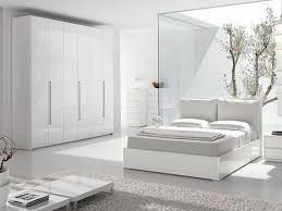 Large Bedroom With Laminate Flooring And White Furniture Bedroom - Bedroom with white furniture