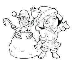 Dora Explorer Coloring Pages Explorer Coloring Pages And Boots