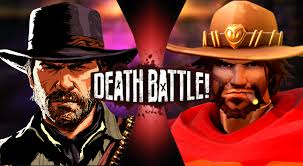 Arthur Morgan vs McCree | Death Battle Fanon Wiki