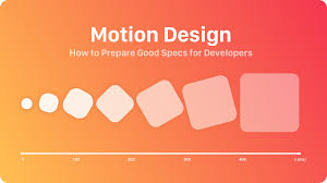 Animations Graphics Motion Design Specs How To Present Animations And