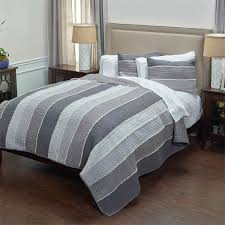 Olivia Grace Charcoal Grey Quilt Set & Olivia Grace Charcoal Grey Quilt Adamdwight.com
