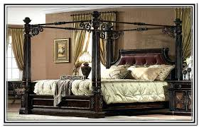 Bed With Posts North Shore King Poster Bed With Canopy Finials For ...