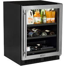 beverage refrigerator lowes. Perfect Refrigerator MARVEL 162Bottle Capacity 55cu Ft Beverage Center To Refrigerator Lowes A