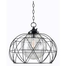 kenroy home cavea bronze 1 light outdoor hanging pendant