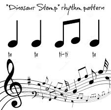 Rhythmic Pattern Awesome The Dinosaur Stomp Movement Rhythm Patterns In The Montessori