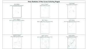 Stations Of The Cross Coloring Pages Printable Stations Of The Cross