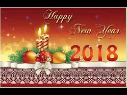 Happy New Year 2018 Wishes Greeting Card Youtube