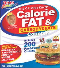 Food Calorie Book Calorieking 2019 Calorie Fat Carbohydrate Counter Book Detail