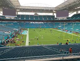 Hard Rock Live Miami Seating Chart Hard Rock Stadium View From Club Level 234 Vivid Seats