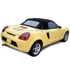 Toyota MR2 Spyder Cabrio Grain Vinyl Convertible Top | Black