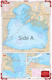 Belleville Lake Depth Chart Lake St Clair And St Clair River Navigation Chart 29
