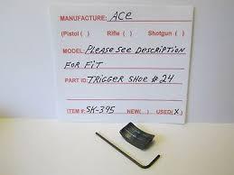 Ace Trigger Shoe Fit Chart Ace Trigger Shoe 10 12 00 Picclick