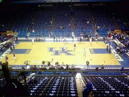 Rupp Arena Section 213 Home Of Kentucky Wildcats
