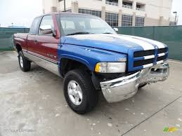 1996 Claret Red Pearl Dodge Ram 1500 ST Extended Cab 4x4 #61074748 ...