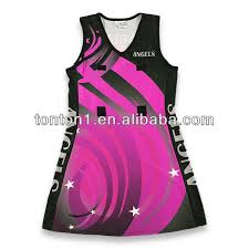 China Tonton Sportswear Rofessional Custom Lycra Netball