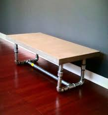 concrete table top ideas | concrete coffee table with pipe legs, DIY My  Homes