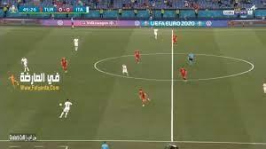 أهداف مباراة إيطاليا وتركيا أمس في اليورو 2021   ملخص مباراة إيطاليا وتركيا  11/6/2021 في افتتاح مباريات اليورو 2020 - كورة في العارضة